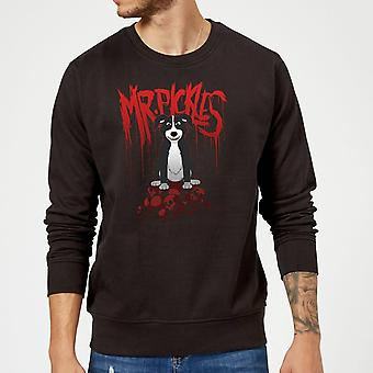 M. Pickles Pile Of Skulls Sweatshirt - Noir