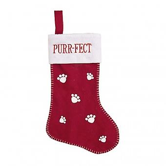 Widdop Gifts Christmas Cat Stocking