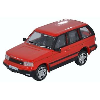Oxford Diecast 76P38001 Range Rover P38 Rioja Red
