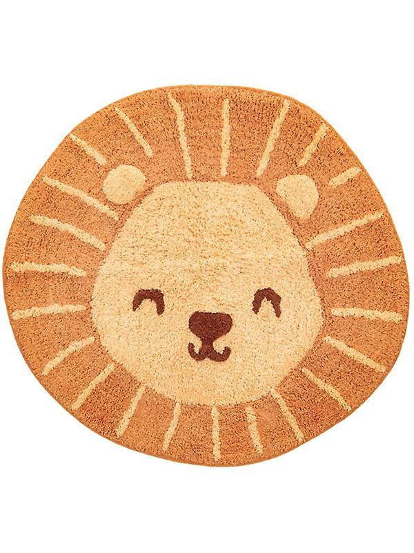 Lion Head Floor Rug