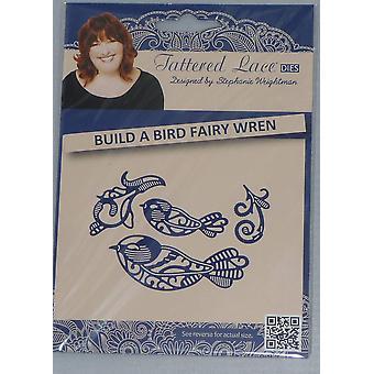 Tattered lace metal cutting die set Build a bird sun gem, phoenix or fairy wren