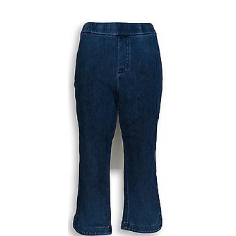 Isaac Mizrahi Live! Frauen's Petite Jeans stricken Pull On Blue A306575