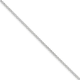 925 Sterling Silver Lobster Claw Fermeture 1.5mm Rolo Chain Anklet 9 Inch Spring Ring Jewelry Gifts for Women