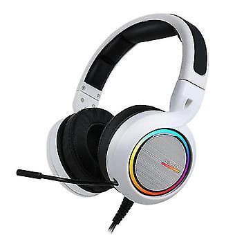 ABKONCORE B1000R REAL 5.2 White gaming headset
