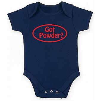 Body neonato blu navy fun1611 got powder