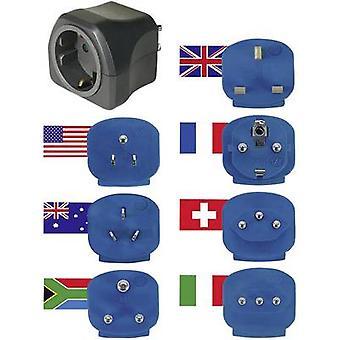 Brennenstuhl 1508160 Travel adapter 7-piece set