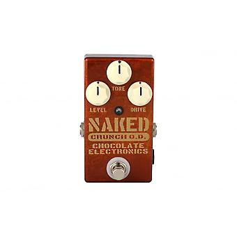 Chocolate Electronics Naked Crunch Overdrive Pedal