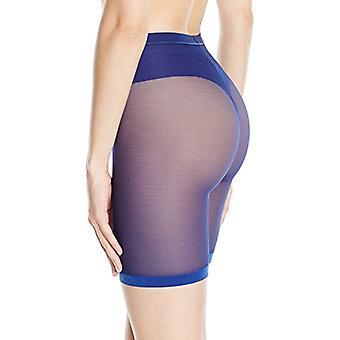 DKNY Women's Runway Collection Thigh Slimmer, Pilot Blue, Medium