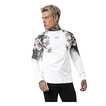 Religion Clothing Religion Flower Sweat White