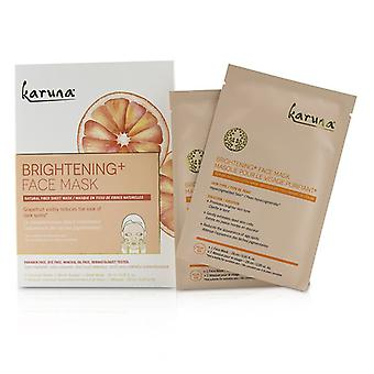 Karuna Brightening+ Face Mask - 4sheets