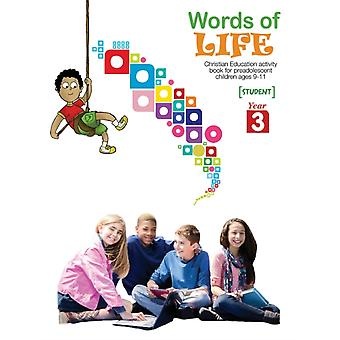 Words of Life Year 3 Student Activity Worksheets by Picavea & Patricia