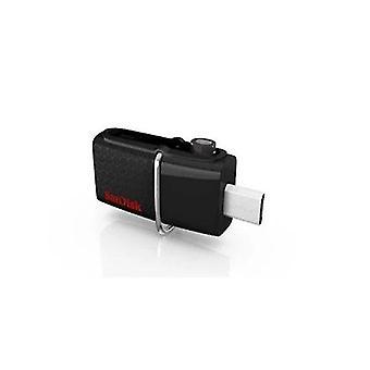Hiekoittaa SDDD2 OTG Ultra kahtalainen USB 3,0 aitaus ajaa