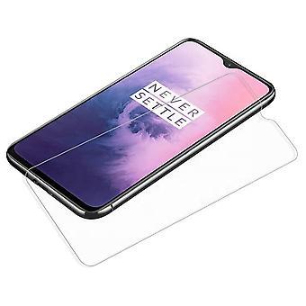 iCoverCase | OnePlus 7 | 2-pack schermbescherming | Gehard glas
