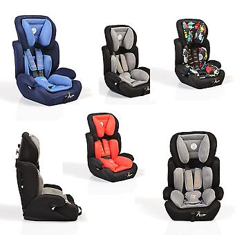 Moni child seat Ares group 1/2/3 (9-36 kg) 1 to 12 years backrest removable
