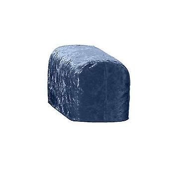 Suuri koko hämärä murskattua samettia ARM korkki tuoli suojus suojuksen Slipcover sohva