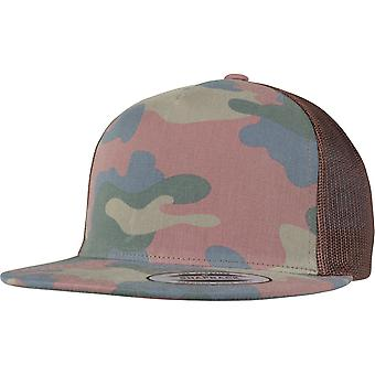 Flexfit by Yupoong Mens Classic Camo Polyester Snapback Cap