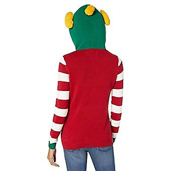 Ugly Christmas Sweater Company Assorted Xmas Sweaters-Juniors, Cayenne Elf Ho...