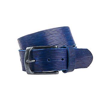 Schöne blaue Jeans Gürtel - 40 mm breit