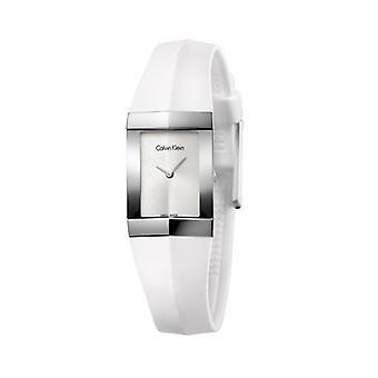 Calvin klein women's watch white k7c23