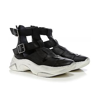 Lofina Leather Cut Out Trainers