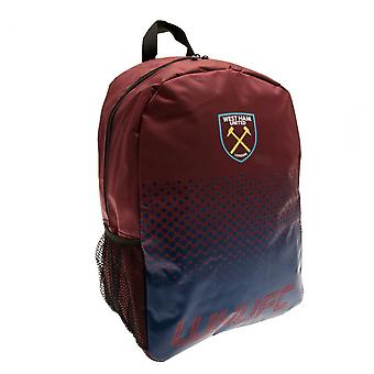 Mochila de design do West Ham United UNITED Fade