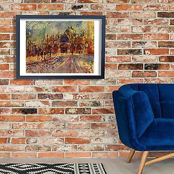 Pierre Auguste Renoir - a cidade Poster impressão giclée