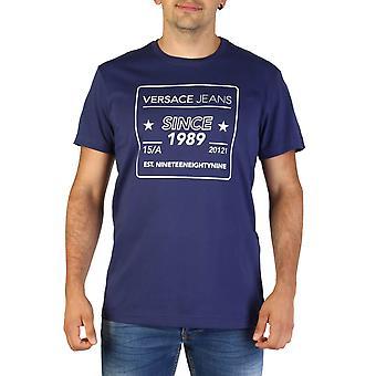Versace Jeans Original Men Spring/Summer T-Shirt - Blue Color 35046