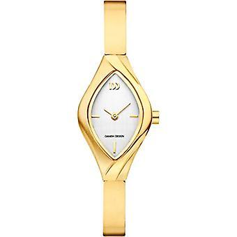 Danish Designs DZ120489-women's wristwatch, titanium, color: Gold