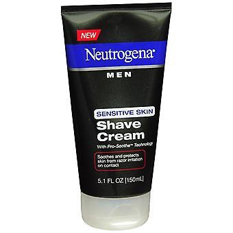 Neutrogena men sensitive skin shave cream, 5.1 oz