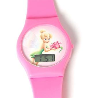 Disney Tinkerbell Digital Pink Strap Girls Watch