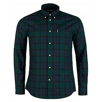 Camisa Barbour Wetheram Small Check Tailored Fit