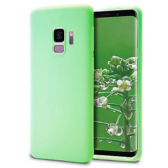 Shell pour Samsung Galaxy S9 Green TPU Protection Case