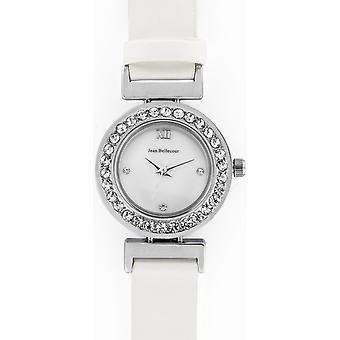 Jean Bellecour REDL4 Watch - White Satin Watch and Woman