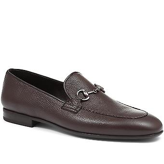Jones Bootmaker Mens Aubrey Leather Snaffle Loafer