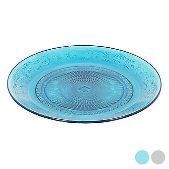 Placa plana Santa Clara (Ø 19 cm)/Azul
