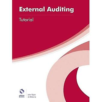 External Auditing Tutorial (AAT Professional Diploma in Accounting)
