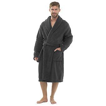 Tom Franks férfi gyapjú Towelling fürdőköpeny öltöző ruha