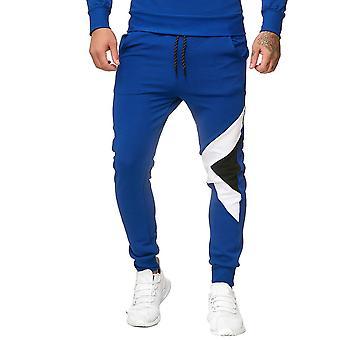 Allthemen Men's Color Odchudzanie Stóp Wiązanie Casual Spodnie