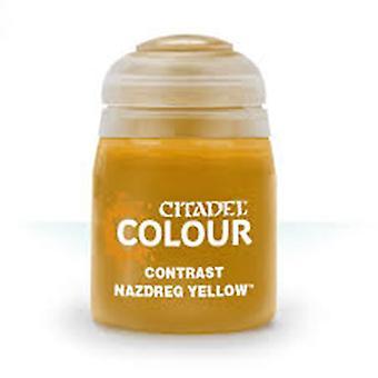 Contraste: Nazdreg Yellow (18ml), Citadel Paint Contrast, Warhammer 40,000