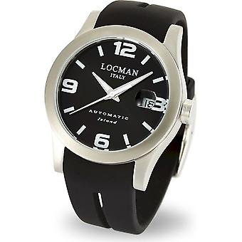 LOCMAN - Wristwatch - Men - 0615V01-00BKWSIK - ISLAND ONLY TIME AUTOMATIC