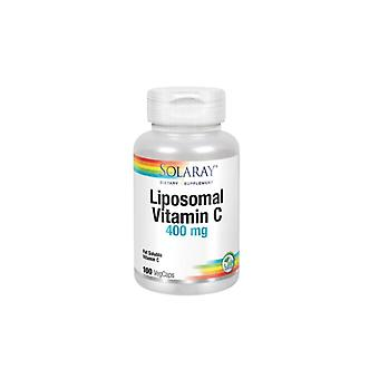 Solaray Liposomal vitamiini C 400mg 100 Kasvis kapselit