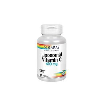 Solaray Liposomal Vitamina C 400mg 100 Cápsulas vegetais