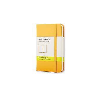 Moleskine notebook xs  - orange yellow