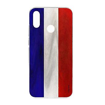 Runko Huawei P Smart 2019 Keitto Ranskan Vintage Lippu