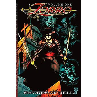 Zorro Swords of Hell by David Avallone - 9781945205996 Book