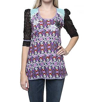 Custo Barcelona Tunic Blouse Longshirt EERIN ROCKETS NEW