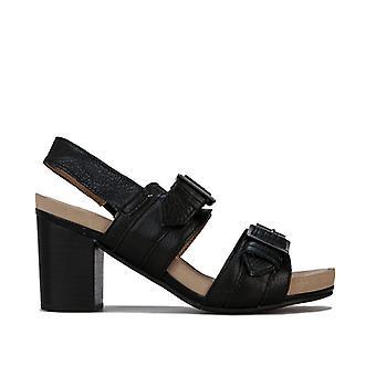 Chaussures de sandale à bretelles Hush Pour les femmes et les chiots Hush En noir