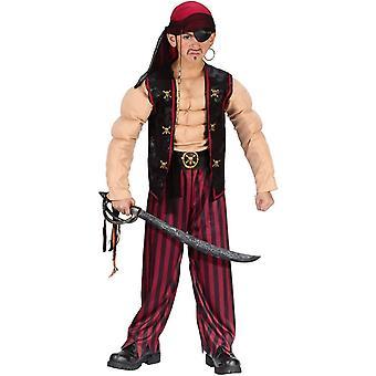 Muskel pirat Child Costume