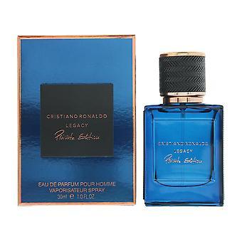 Cristiano Ronaldo Legacy Private Edition Eau de Parfum 30ml Spray For Him