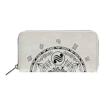Zelda Purse Symbols Logo new Official Nintendo Grey Zip Around